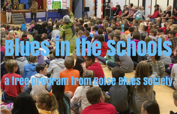 Help Blues-in-the-Schools Play Your School!
